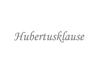 Gutbürgerliches Restaurant Hubertusklause